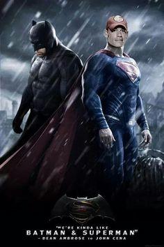 Dean Ambrose Batman