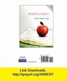 Beginning algebra martin gay 5th edition