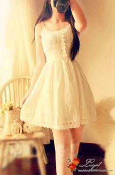 2014 Våren og Sommeren frisk og Søt Liten fe midje perle bomull blondere prinsesse kjole Dress retro vill - Taobao