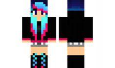 edited-girl Minecraft Skin