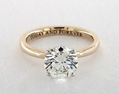 1.8ct Round Solitaire Engagement Ring in Yellow Gold - See it in 360 HD SuperZoom!
