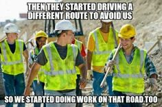 Road construction explained