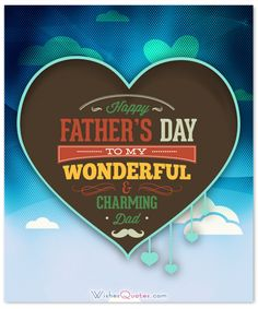 Wish a Happy Father's Day to your dad with these wonderful and amazing messages. Make this day special with these exclusive Happy Father's day wishes. Happy Dad Day, Happy Fathers Day Images, Fathers Day Wishes, Fathers Day Cards, Gifts For Father, Unique Birthday Wishes, Birthday Messages, Fathers Day Wallpapers, Dear Dad