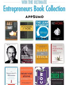 The Top 40 Books Every Entrepreneur Should Read.