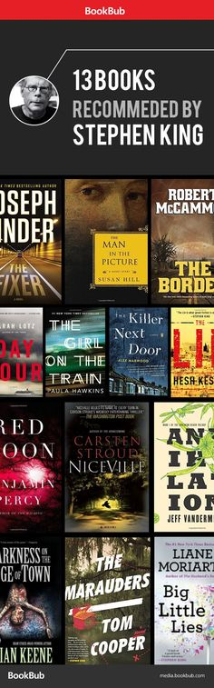Books worth reading: Stephen King edition. Here are new thrillers recommended by bestselling author Stephen King himself.