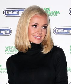 Katherine Jenkins Mid-Length Bob - Shoulder Length Hairstyles Lookbook - StyleBistro