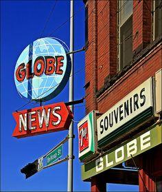 Globe News in Superior, Wisconsin.