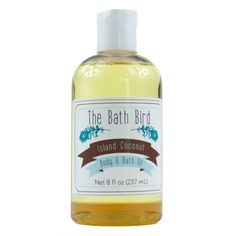 Island Coconut Body & Bath Oil