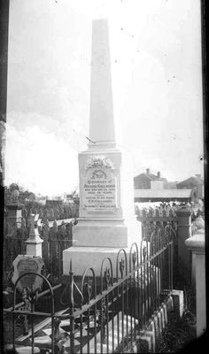 Kintalk Whānau Kōrero: Family history blog: Tombstone Tuesday: Michael Gallagher, Symonds Street Cemetery