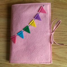 Pretty Pastel Journal Cover