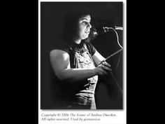 Andrea Dworkin on prostitution, pornography and trafficking