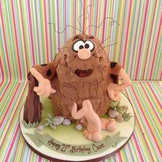 Cool Caveman Cake!