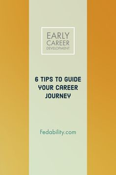Early career advice to guide your career journey. Individual development plan IDP professional job goals