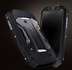 Tag Heuer Racer carbon fiber cell phone