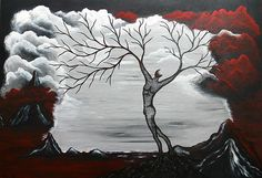 Burning Desire Painting by Sylvia Sotuyo - Burning Desire Fine Art Prints and Posters for Sale