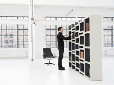 This bookcase expands according to the number of books in it!! in Furniture Design