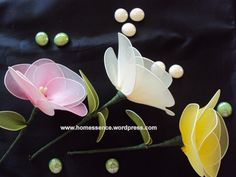 How to makenylonflower americanpeony