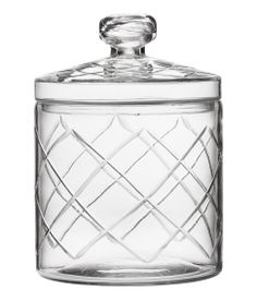 A jar made of glass, H&M