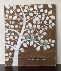 Ana White | Build a Family Tree Nesting Birds Sign | Free and Easy DIY Project and Furniture Plans