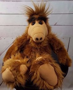 Vintage 1986 Alf talking plush toy Alien Productions Coleco Melmac TV Show #Coleco