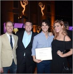 Darren at the Television Academy's 2015 Music Nominee Reception (Sep 10, 2015)