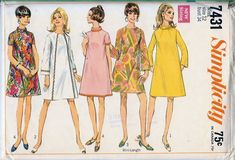 Simplicity 7431 A - Vintage Sewing Patterns - Wikia