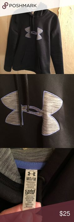 Under Armour cold gear hoodie Extremely warm cold gear hoodie. Used-excellent condition. I literally wore it three times. It's just a little smaller than a md in my opinion so it's tighter than I like my hoodies Under Armour Jackets & Coats