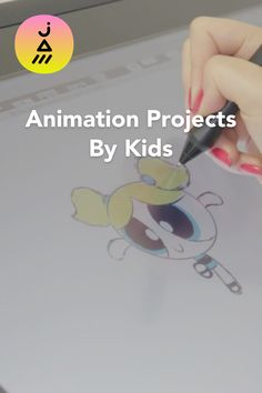 Animation creations by kids on JAM.