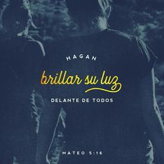 De la misma manera la conducta de ustedes debe ser como una luz que ilumine y muestre cómo se obedece a Dios. Hagan buenas acciones. Así los demás las verán y alabarán a Dios el Padre de ustedes que está en el cielo. San Mateo 5:16 @youversion @ibvcp #buenosdias #islademargarita #venezuela