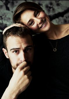 Shailene Woodley and Theo James. SO CUTE. DIVERGENT #1