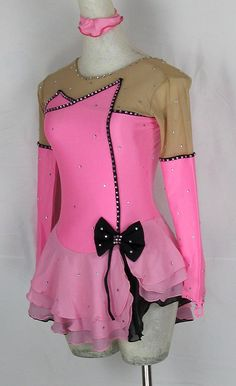 Amazon.com : Fashion Custom Girls Ice Skating Dress For Competition With Crystals A2031 : Sports & Outdoors