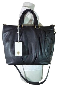 Tory Burch Leather Small All T Black Satchel. Save 11% on the Tory Burch Leather Small All T Black Satchel! This satchel is a top 10 member favorite on Tradesy. See how much you can save