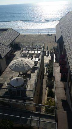 Aerial view of the Ocean Terrace