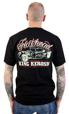 KING KEROSIN FLATHEAD T SHIRT - Matt