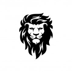 Silhouette Lion, Silhouette Vector, Leo Tattoos, Tattoos For Guys, Logo Lion, Lightning Logo, Lion King Art, Real Estate Photographer, Fashion Logo Design