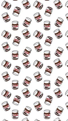 backgrounds, food, nutella, wallpaper