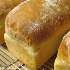 This bread is fantastic! It is great for sandwich's and toast! It also makes the best french toast ever!   My husband and kids love this bread! I don't buy store bought bread anymore. I make this recipe at least once or twice a week.    I always have request from friends and family for a loaf!   I even make this bread for Communion at church once a month!