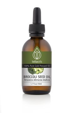 Broccoli Seed Oil - 100% Pure Cold Pressed, Extra Virgin Unrefined Oil 1.7oz / 50ml - Anti-aging Product - Very Effective for Hair *** Details can be found by clicking on the image.