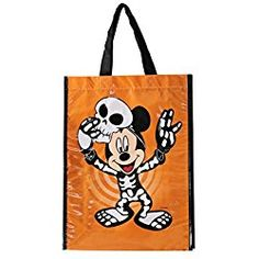 Disney Mickey Mouse Trick or Treat Bag Trick Or Treat Bags, Reusable Grocery Bags, Halloween Trick Or Treat, Disney Mickey Mouse, Treats, Make It Yourself, Trick Or Treat, Sweet Like Candy, Goodies