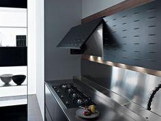 Cocina integral de aluminio RICICLANTICA ALUMINIO by VALCUCINE