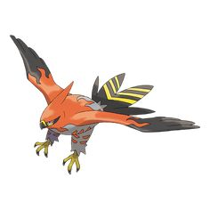 View an image titled 'Talonflame Art' in our Pokémon X and Y art gallery featuring official character designs, concept art, and promo pictures. Pokemon Tv, Pokemon Pokedex, Latios Pokemon, Flying Type Pokemon, Fire Pokemon, Pokemon X And Y, Cool Pokemon, Pokemon Evolutions Chart, Creative Senior Pictures