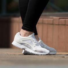 The adidas Originals Womens Racer Lite EM Trainer in all white.