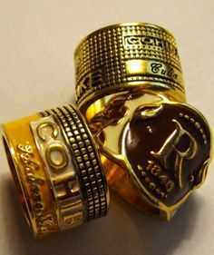 Cigar band rings