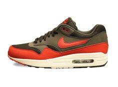 the best attitude 4f35e 3f092 Nike Air Max 1 Grey Red White