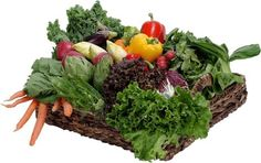 Eating by colors: The darker the #food, the better it is for you. #greenvegetable