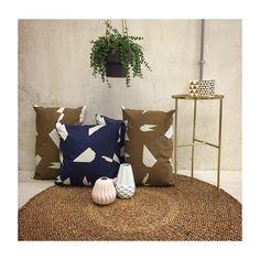 ferm LIVING Cut Cushion, illustration by Alison Fox. http://www.fermliving.com/webshop/shop/cushions.aspx
