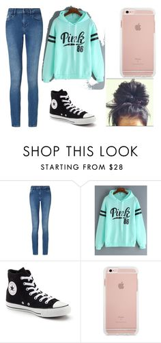 """""""Casual"""" by naturalbeautyxo16 on Polyvore featuring Calvin Klein, Converse, casualoutfit and firstdayofschool"""