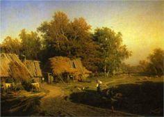 Village - Fyodor Vasilyev
