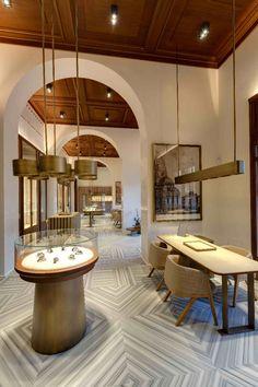 Officine Panerai a Firenze by Patricia Urquiola | selected by La Chaise Bleue (lachaisebleue.com)