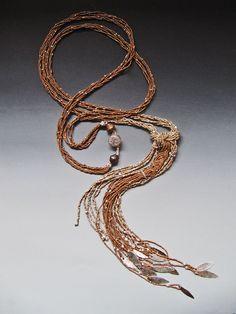 Еще раз о бисерных нитях. Часть 1: Lucia Antonelli.: публикации и мастер-классы – Ярмарка Мастеров